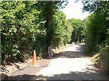 SH3233 : Road works near Wern Farm by Eric Jones