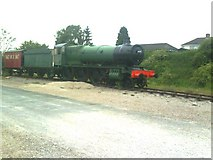 NY6820 : Appleby Heritage Centre, Steam Locomotive by Roger Templeman