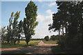 TL6667 : Track leading to Chippenham Park by Bob Jones