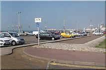 TQ8209 : Pelham Place Car Park by Oast House Archive