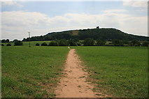 SJ5358 : The Sandstone Trail at Beeston, Cheshire by Jeff Buck