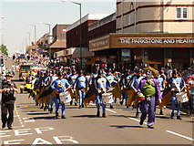 SZ0893 : Winton: Bournemouth Carnival Band by Chris Downer