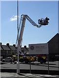 J0153 : Portadown Fire & Rescue Station. Thomas Street by HENRY CLARK