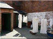 SP0786 : Back yard, Court 15, Inge Street, Birmingham (1) by Brian Robert Marshall