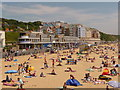 SZ1191 : Boscombe: the Overstrand and Honeycombe Chine flats by Chris Downer