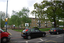 TQ3473 : Lordship Lane and Dulwich Common Estate by N Chadwick
