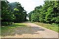 TG2233 : Track through the Gunton Estate by Ashley Dace