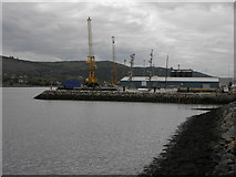 J1418 : A view towards Warrenpoint Harbour by HENRY CLARK