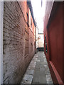 TQ8209 : Alleyway off George Street by Oast House Archive