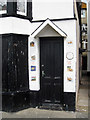 TQ8209 : Door of 5, Harbour Lights, Marine Parade by Oast House Archive