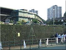 TQ2472 : Wimbledon tennis club by Malc McDonald
