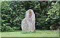 NO2743 : Macbeth's Stone, Lodge House, Belmont Castle by Bob Embleton