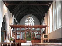 TQ2470 : St John's church: interior by Stephen Craven