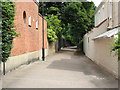TQ2470 : Footpath to Ridgway Place by Stephen Craven