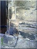 SE1039 : Benchmark on All Saints Church, Bingley by Roger Templeman