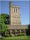 SP5106 : The Cloister and Bell Tower, New College, Oxford by Marathon