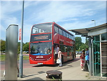 TL4259 : Park and ride bus to Cambridge by Stacey Harris