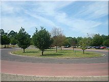 TL4259 : Madingley Road Park and Ride, Cambridge by Stacey Harris