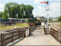 SO6302 : Arrival at Lydney Junction station by Jaggery