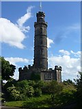 NT2674 : Nelson Monument on the Calton Hill by kim traynor