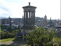 NT2674 : Dugald Stewart Monument, Calton Hill by kim traynor