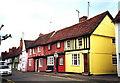 TL5338 : Cottages in Saffron Walden by nick macneill