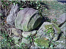 SE2768 : Carved Stone reused as a top-stone by Matthew Hatton