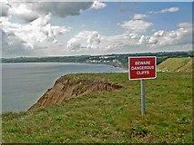 TA1281 : Beware Dangerous Cliffs by Steve  Fareham