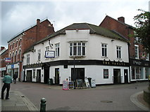 SK0418 : The Vaults Pub, Rugeley by canalandriversidepubs co uk