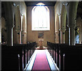 TF8036 : All Saints' church in Stanhoe - view west by Evelyn Simak