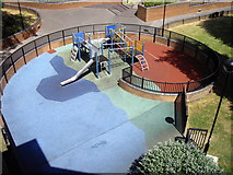 TQ2677 : Playground on Worlds End Estate Chelsea by PAUL FARMER