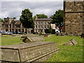 NZ2742 : Buildings of Durham University Over Gravestones by Trevor Littlewood
