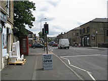SK0394 : Glossop - Looking towards High Street East by Alan Heardman