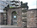 NT2471 : Gate to Merchiston Tower by kim traynor