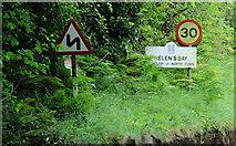 J4681 : Welcome to Helen's Bay by Albert Bridge