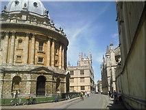 SP5106 : Catte Street, Oxford by Marathon