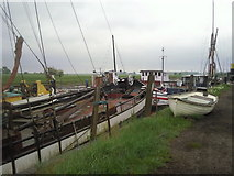 TR0262 : Boatyard on the outskirts of Faversham by Marathon