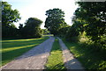 TQ5846 : National cycleway 12 and the Wealdway by N Chadwick