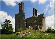 N2925 : Castles of Leinster: Ballycowan, Offaly (3) by Mike Searle