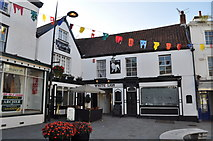ST5393 : White Lion public house, Chepstow by Nick Mutton
