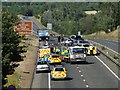 TG2405 : Major Accident on the A47 South of Norwich 10 July, 2010 by Adrian S Pye