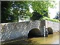 TQ5365 : Bridge at Eynsford ford by E Gammie