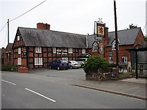 SJ4623 : Red Lion, Myddle by Ian Paterson