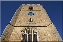 TL8240 : St Mary's Church, Belchamp Walter by Jeff Horne