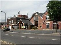 SZ0095 : Broadstone, Methodist Church Centre by Mike Faherty