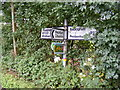 TM3065 : Roadsign on the B1120 Badingham Road by Adrian Cable