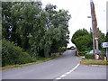 TM2862 : B1116 Station Road, Framlingham by Adrian Cable