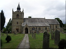 NY9371 : St  Giles  Church  Chollerton by Martin Dawes