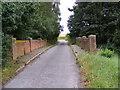 TM2961 : Bridge on Brick Lane by Adrian Cable
