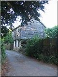 TR1859 : Lane by Fordwich church by E Gammie